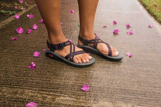 Chacos in Flowers