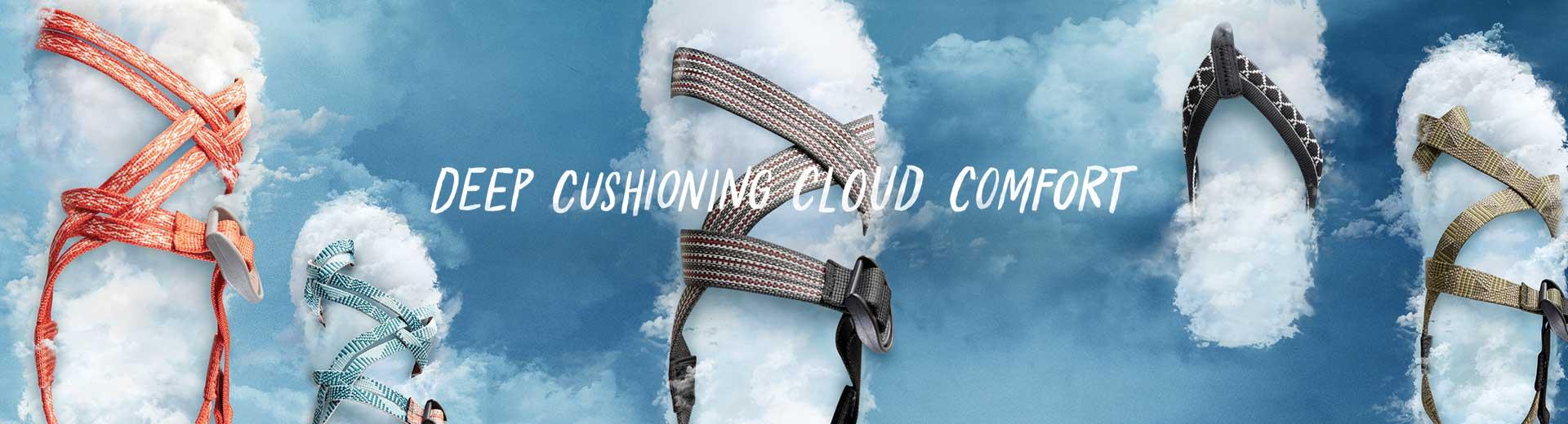 Deep Cushioning Cloud Comfort