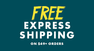Free Express Shipping On Orders Over $49