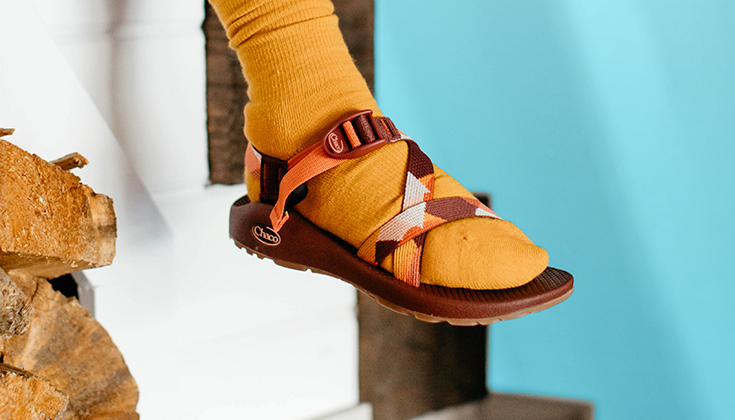 Chaco Brown Mid Boots