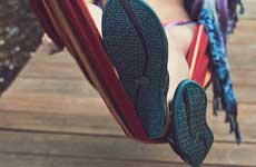 surfboards and chacos