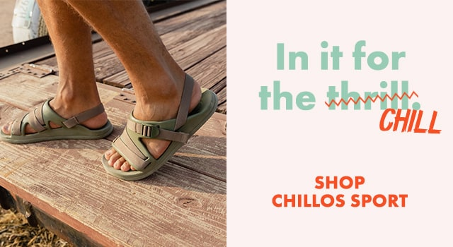In it for the chill. Shop Chillos Sport.