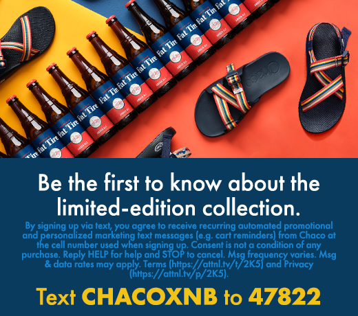 Be the first to know about the limited collection-Chacoxnb