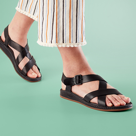Chaco Leathers.