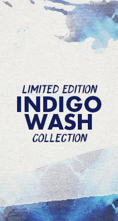 Limited Edition Indigo Wash Collection