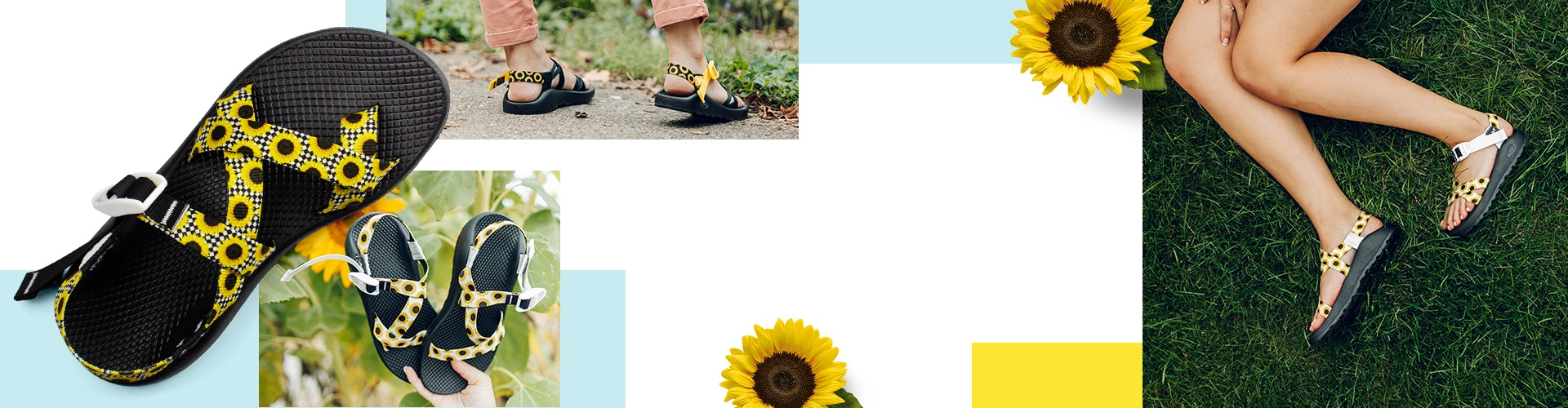 Chaco Sunflower Custom Sandals Gallery