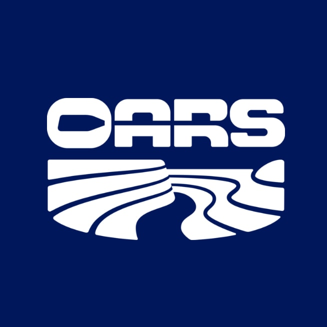 O.A.R.S. Rafting Logo.