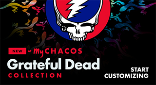 New at MyChacos: Grateful Dead Collection - Start Customizing.