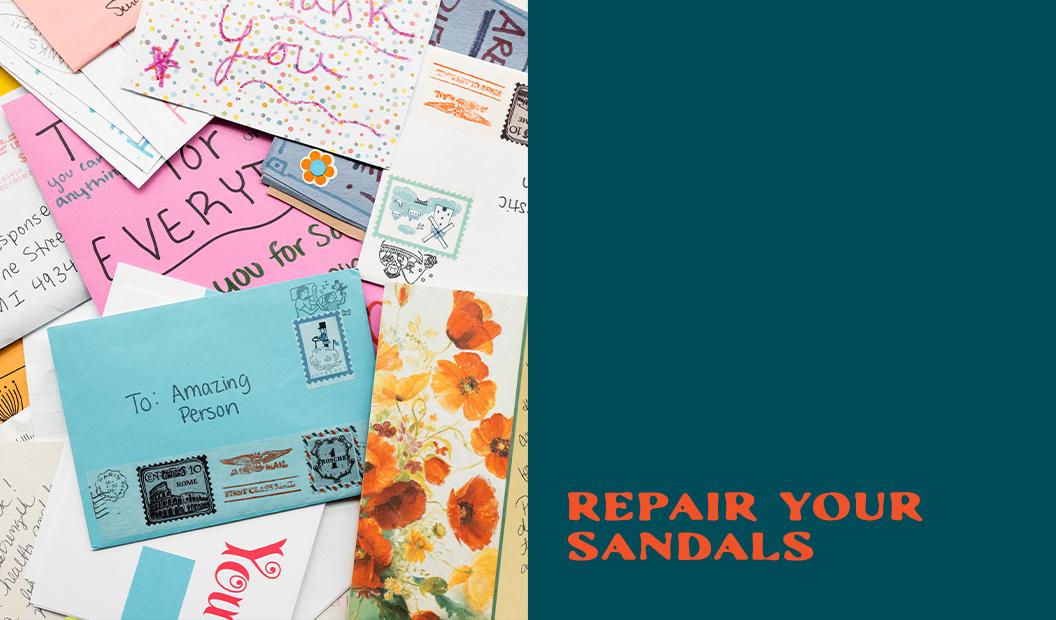 Repair Your Sandals