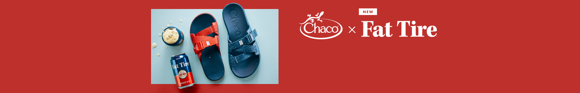 New, Chaco x Fat Tire.