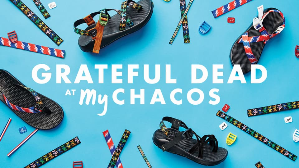 Grateful Dead at My Chacos