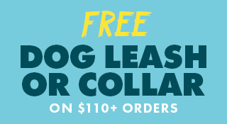 Free Dog Gear on $110+ Orders