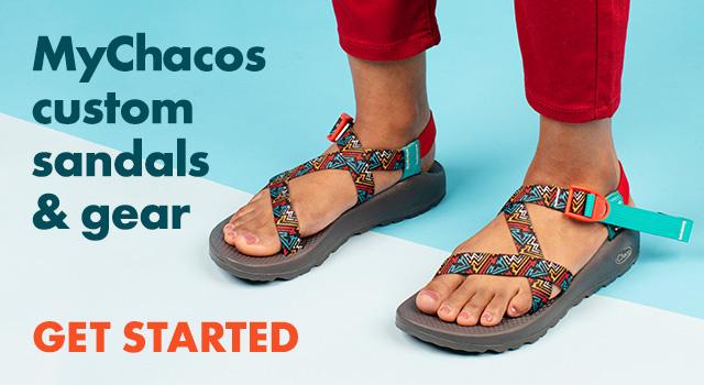 MyChacos custom sandals & gear.