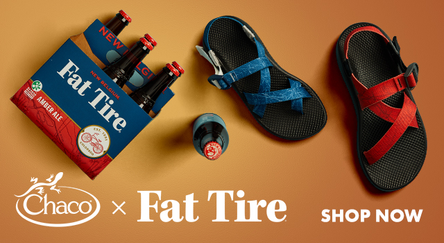 Chaco X Fat Tire, Shop Now.