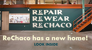 Repair Rewear ReChaco. ReChaco has a new home! Look inside.