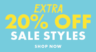 Extra 20% OFF Sale Styles | Shop Now