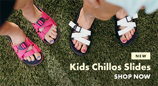 New, Kids Chillos Slides.