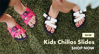 New, Kids Chillos Slides.