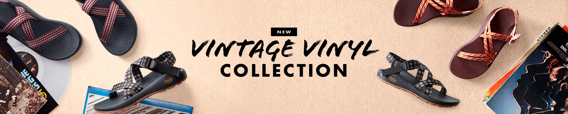 NEW: Vintage Vinyl Collection