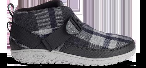 Plaid Ramble shoes.