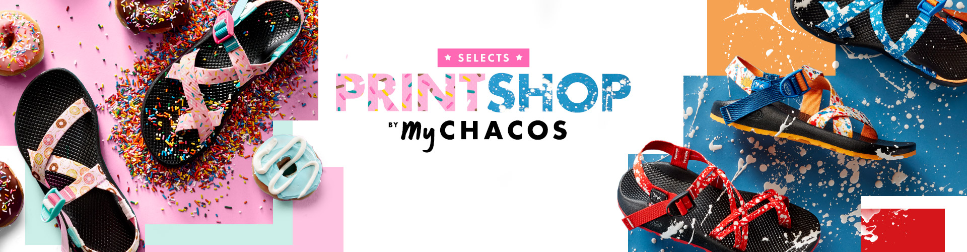 Selects. Printshop by My Chacos