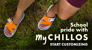 MyChaco custom sandals.