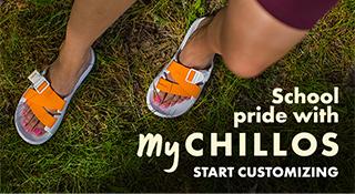 MyChaco custom sandals.