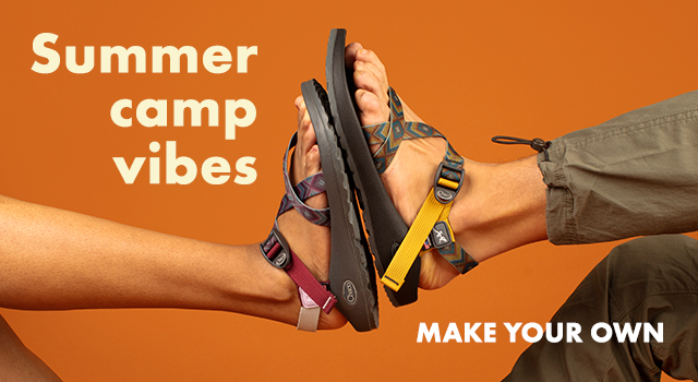 Stop into spring with MyChacos. Make your own.