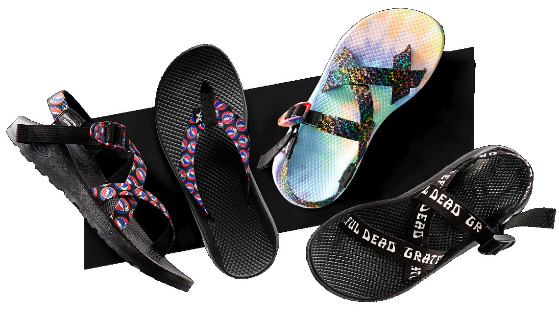 8fa96537444a Chaco Grateful Dead Sandals Collection