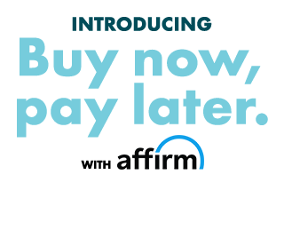 Introducing Buy now, pay later. with Affirm.