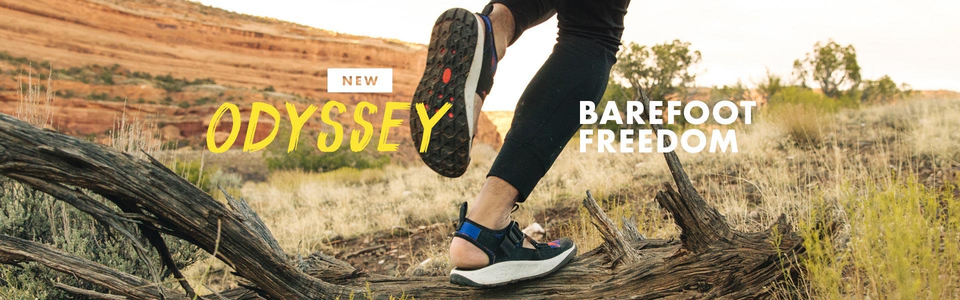 New. Odyssey. Barefoot Feedom.